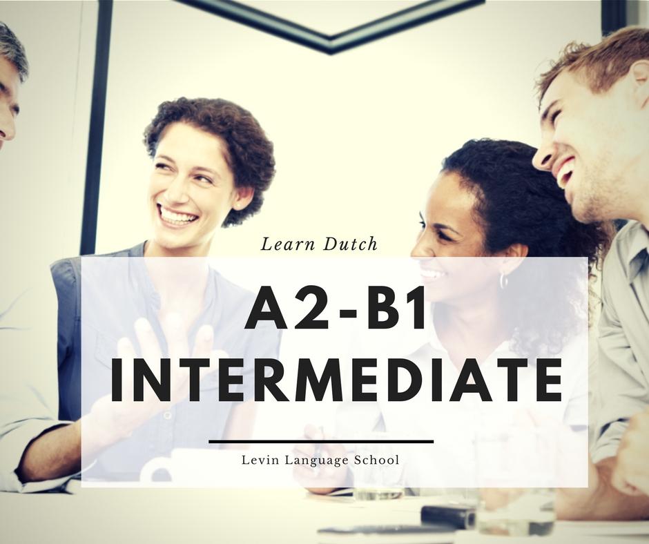 A2 to B1 Intermediate