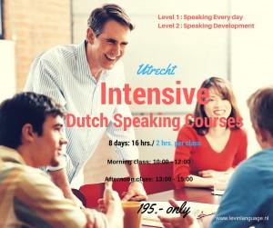 Intensive Dutch Speaking Utrecht